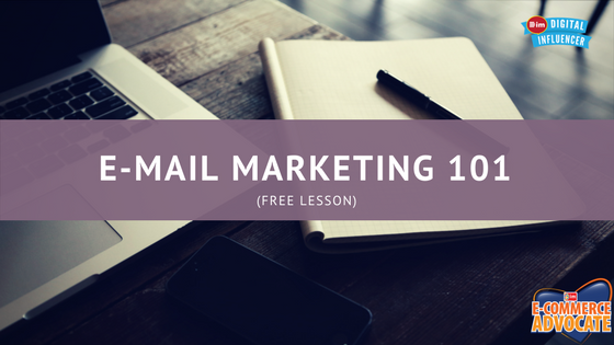 e-mail marketing 101